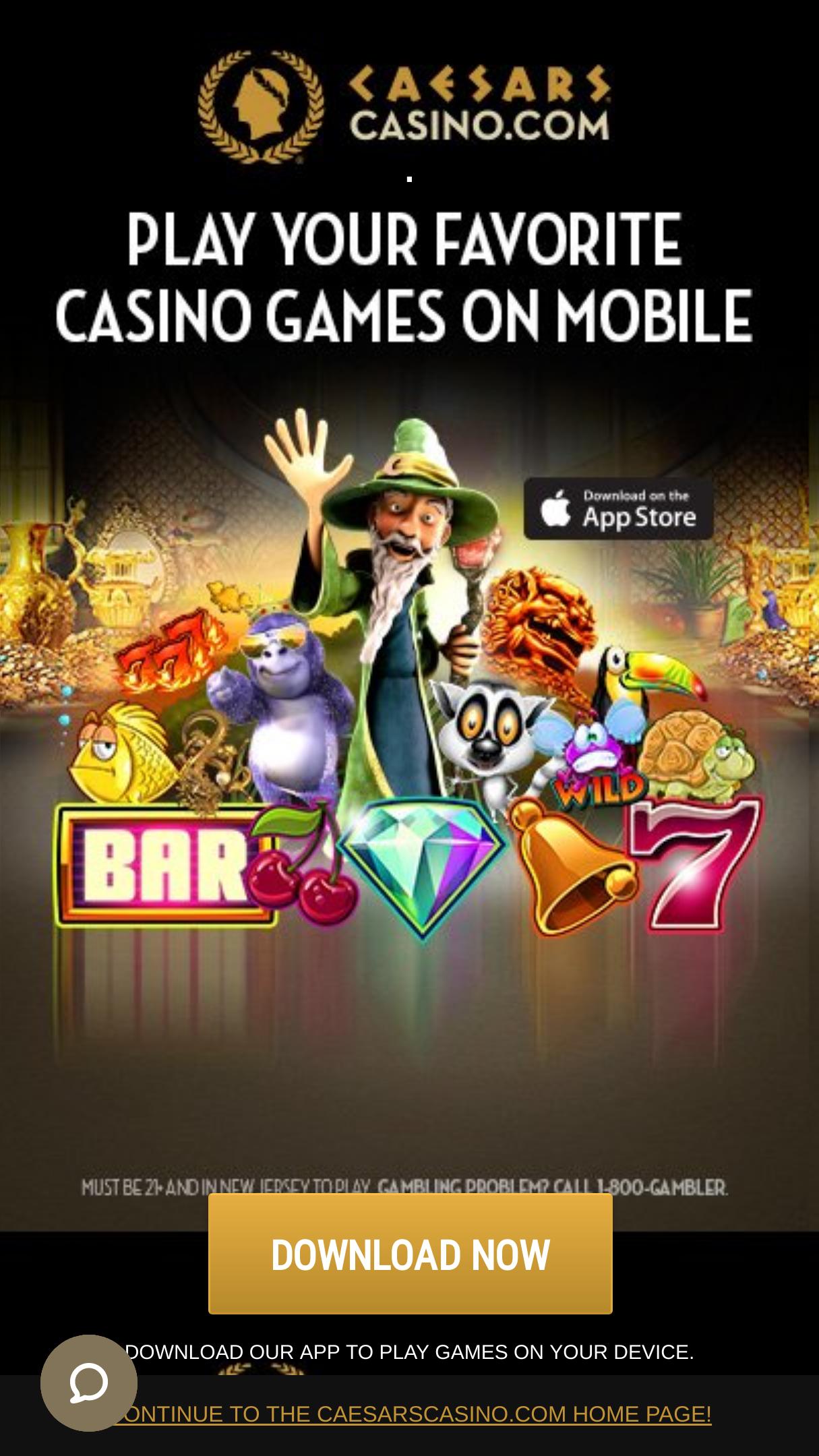 Caesars Casino Free Spins Hack