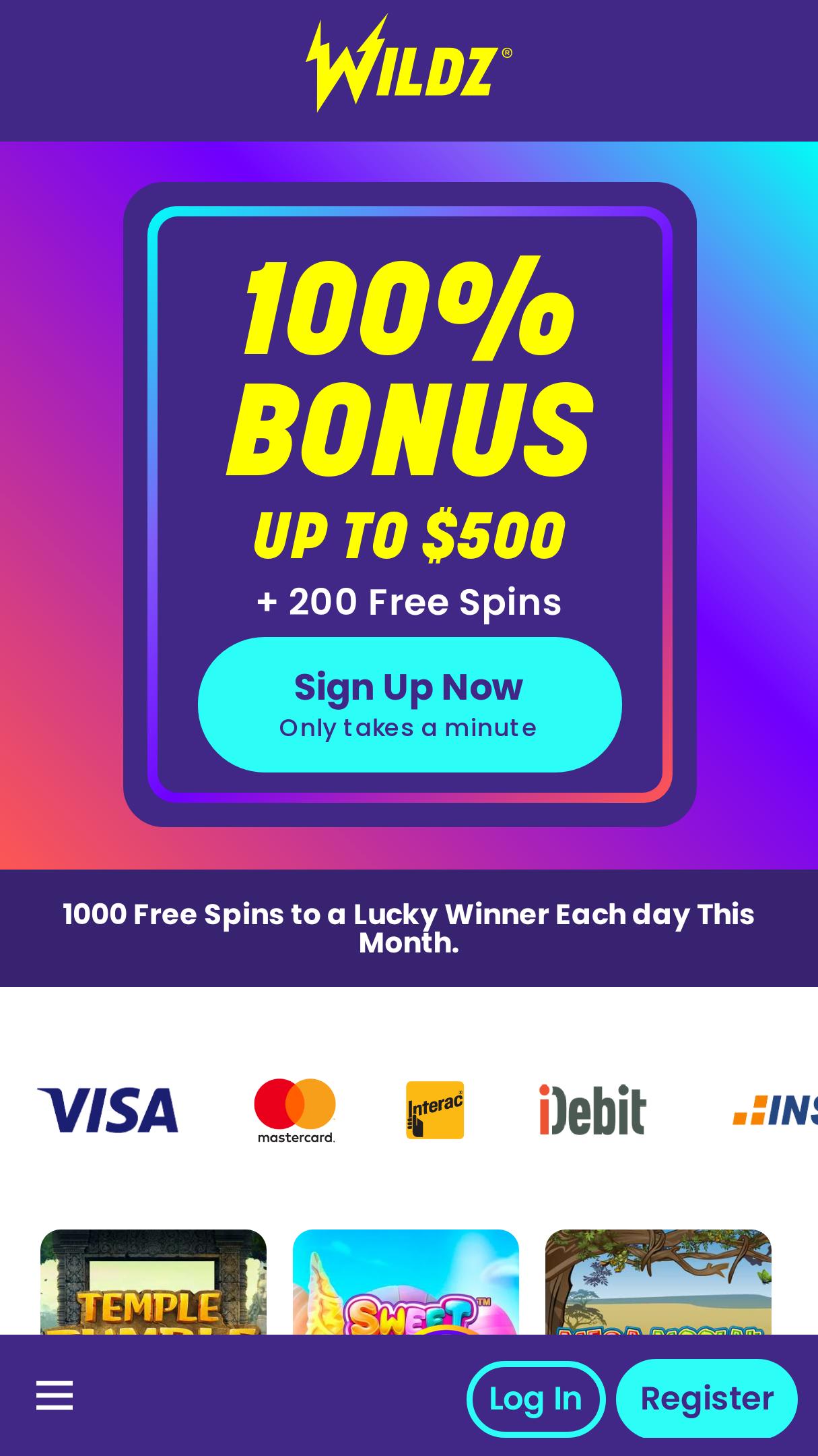 Wildz Casino App