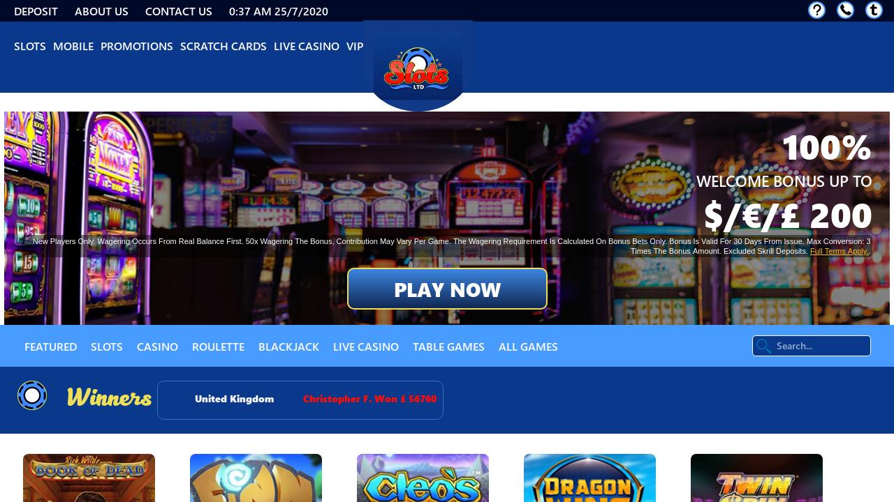 Slot Ltd