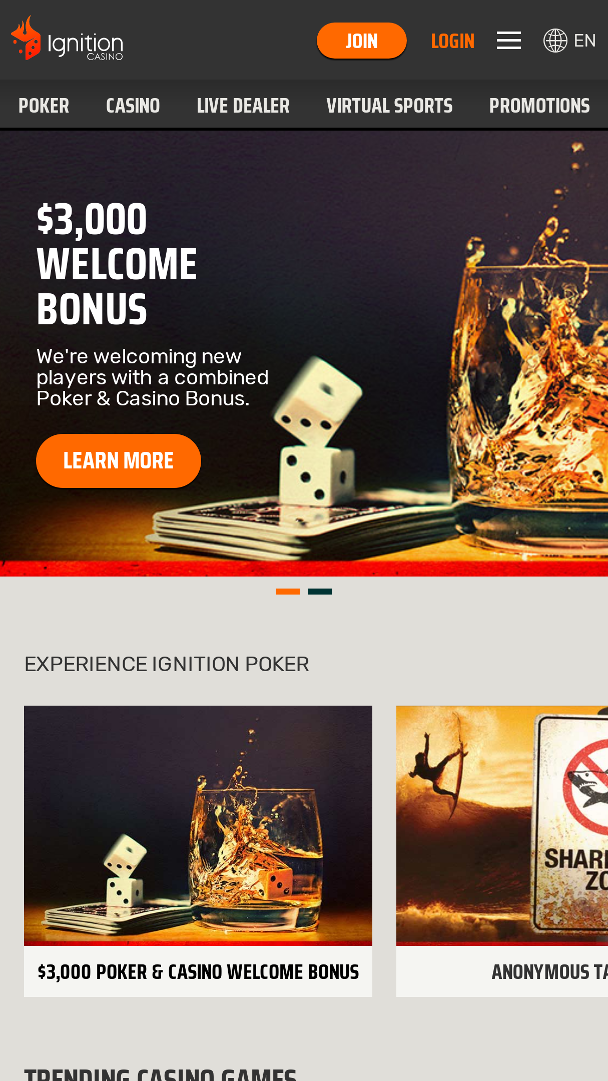Ignition Casino App