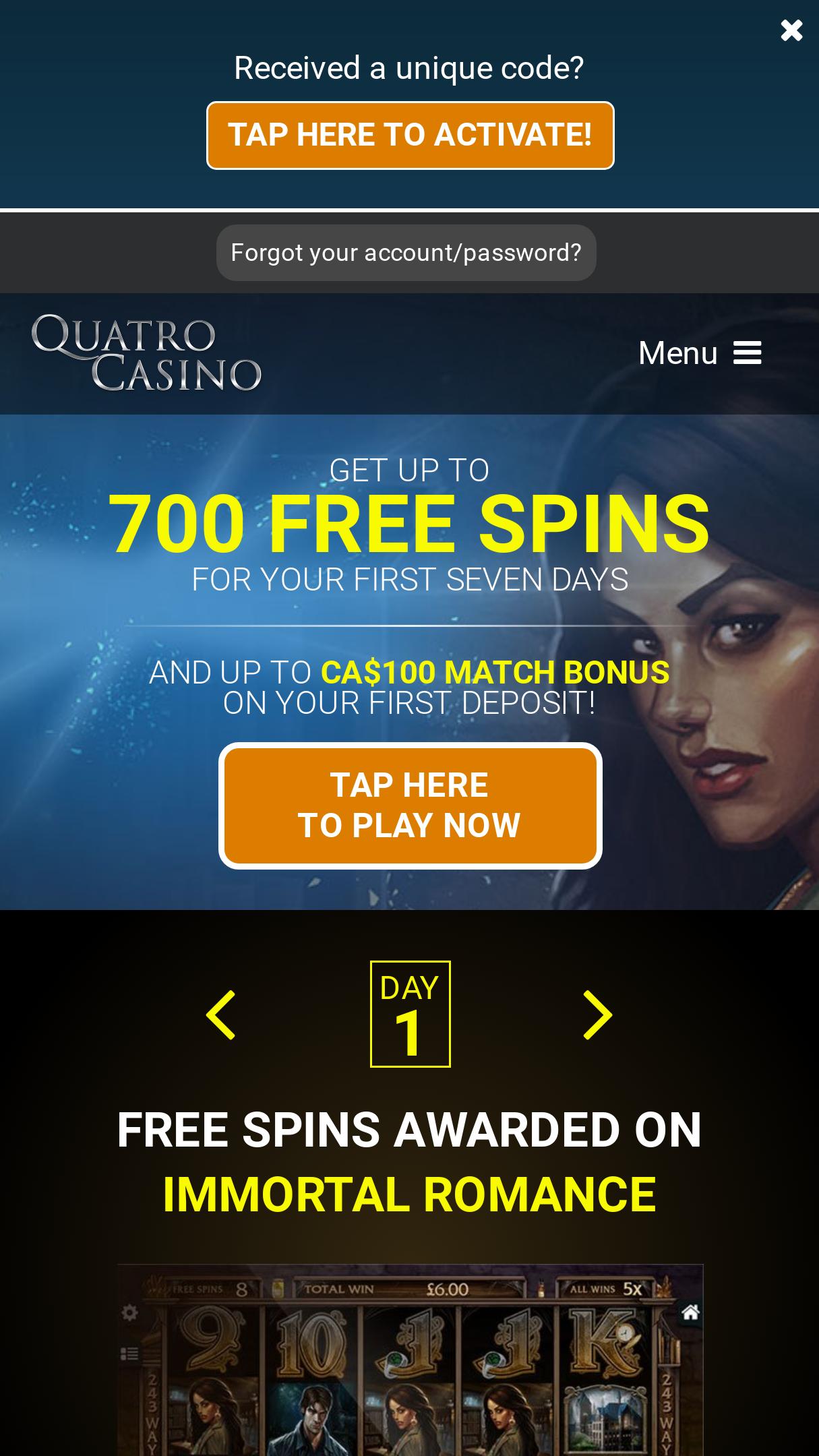 Www.Quatrocasino.Con/Spins