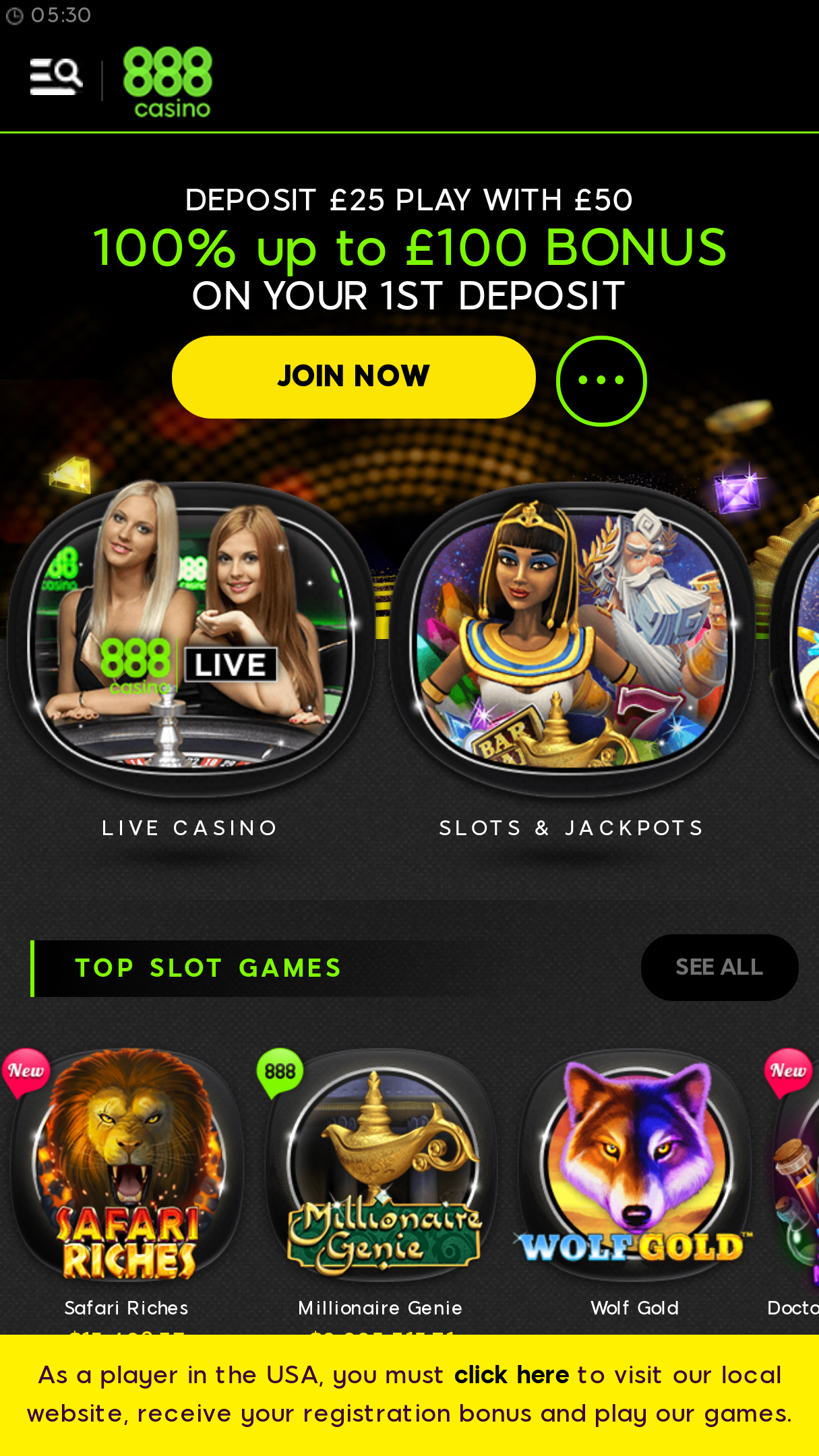 888 Casino App Android