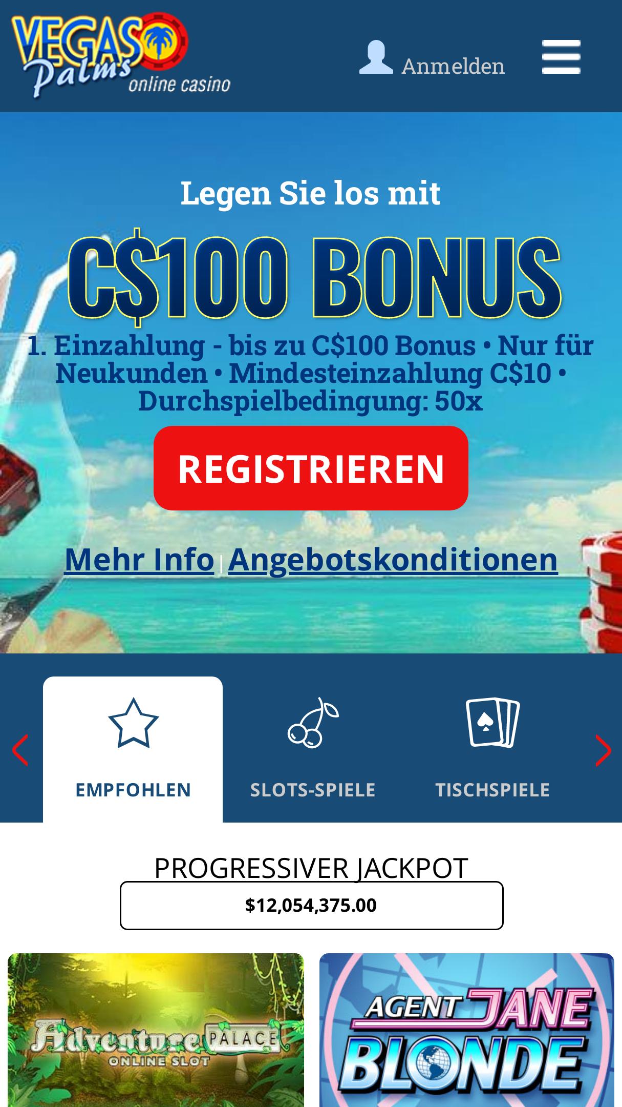 Vegas Palms Casino App