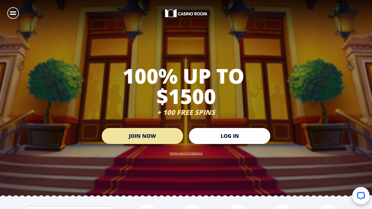 Casino Room Bonus 100 Up To 1 000 100 Free Spins