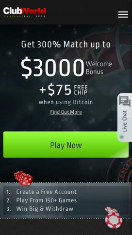 Club World Casino For Iphone