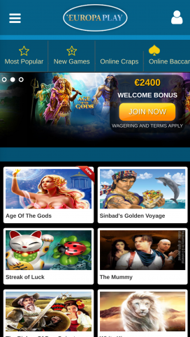Europaplay Casino Download