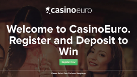 CasinoEuro Homepage