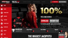 Intertops Casino Homepage
